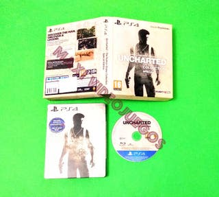 Uncharted con Steelbook (PAL UK) / PS4
