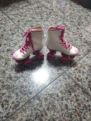 Patines para patinaje artístico niña