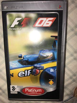 Formula one 06 tm PLATINUM videojuego PSP