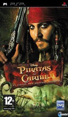 Juego PSP Piratas del Caribe El Cofre del Hombre