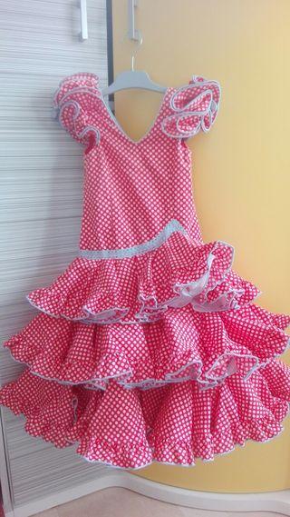 Traje de flamenca niña 3 años