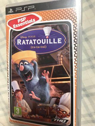 Ratatouille videojuego PSP