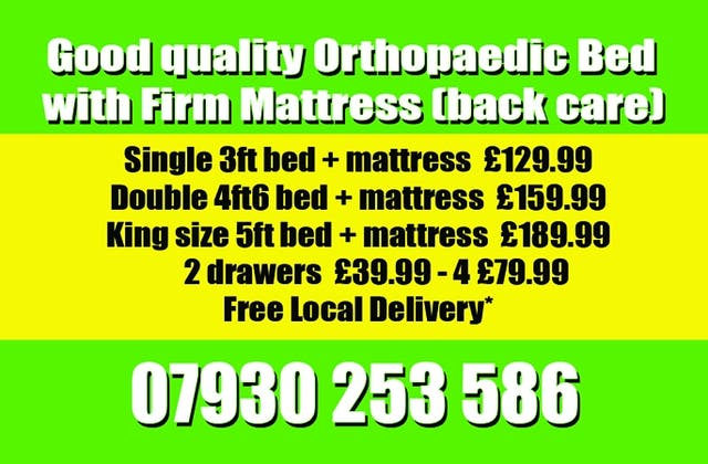 Firm back care super royalty bed