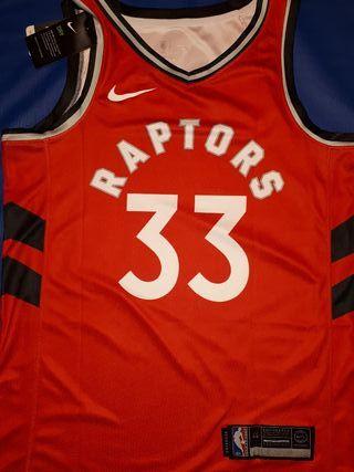 Camiseta Gasol Toronto Raptors Nike