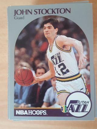 NBA HOOPS 90-91