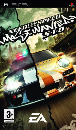 Juego PSP Need For Speed Most Wanted. Segunda mano