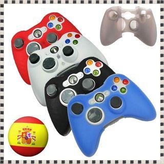 Funda de Silicona para mando Xbox 360 protectora