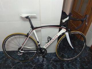 bicicleta carretera Peugeot rsr 02 carbono