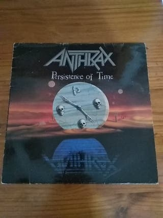 DISCO VINILO ANTHRAX PERSISTENCE OF TIME