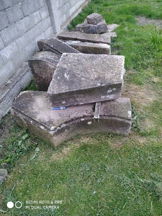 piedras canteadas