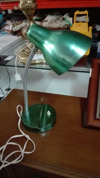 Flexo verde vintage, reto Funciona