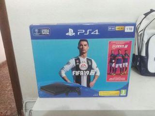 PS4 1TB con garantía y Fifa 19