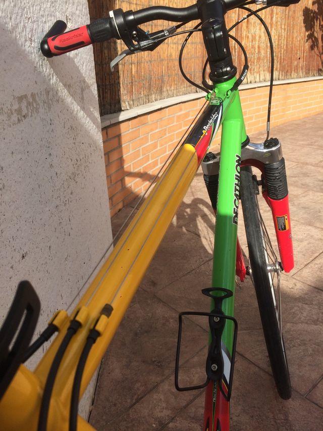 Bicicleta fixie ciudad MTB