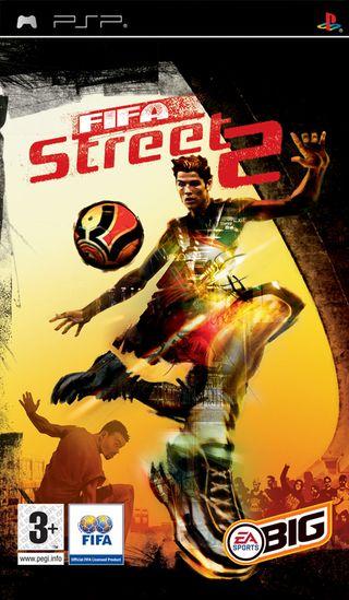 Juego PSP FIFA STREET 2. Producto segunda mano.