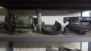 motor esmeril y lijadora electrica