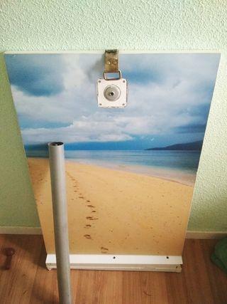 Mesa abatible + regalo reloj de pared