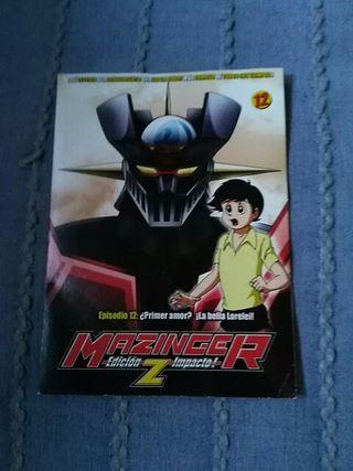 dvd Mazinger Z edición Impacto