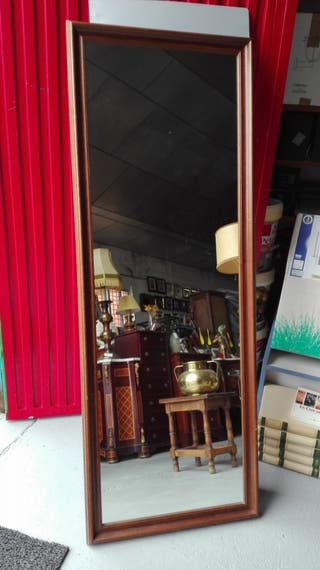 Espejo alto de madera maciza 59x159 cm