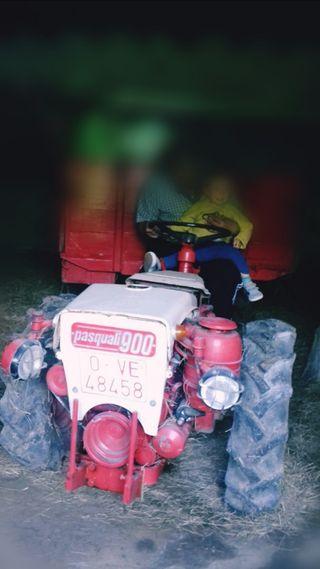 Tractor PASQUALI modelo 900