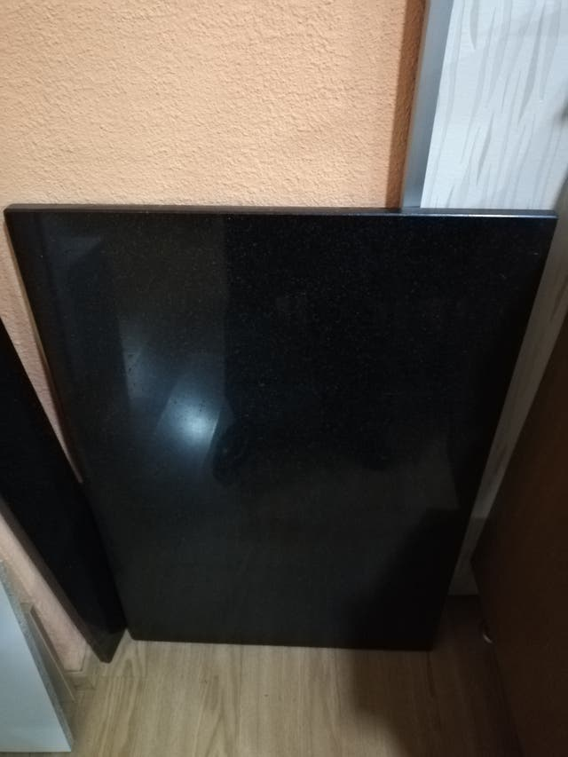 Encimera granito negro intenso importacion