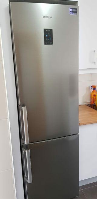 frigorífico combi Samsung inox a++