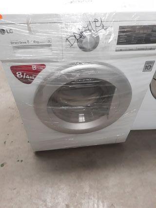 lavadora secadora l.g. 8kg. de lav.4kg. secad.