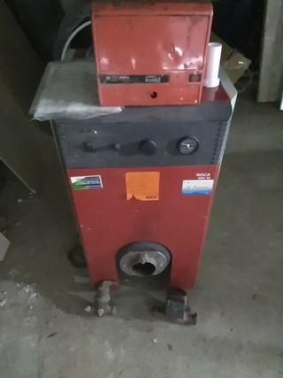 calefacción gasoil + depósito Schütz