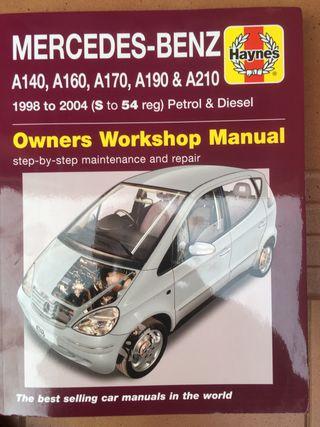 Manual Haynes para Mercedes Clase A