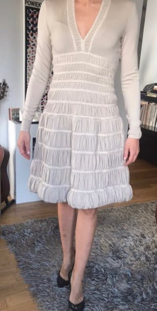 Alaia vintage beige dress