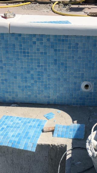 Gresite piscina