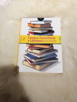 Libro de texto 2° bachillerato Lengua y literatura