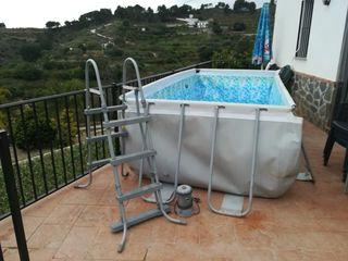 vendo piscina desmontable