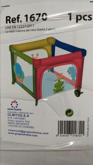 Parque infantil/cuna viaje Olmitos