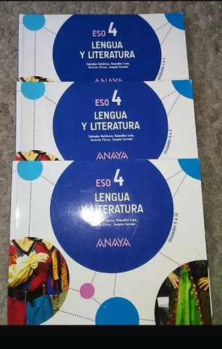 Lengua y Literatura 4 ESO SIN ESTRENAR