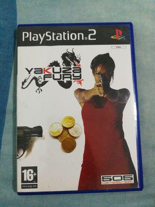 yakuza fury PS2