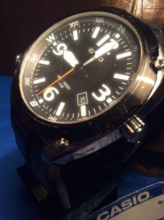 ¡¡ 49 Reloj En Mano E001 Por € AviatorDe Casio Mtf Black Segunda tCQrdxsh