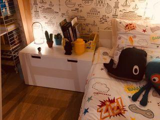 Escritorio + cajón BLANCO Stuva IKEA