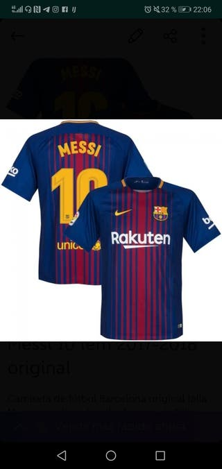 0801a537ba04d Camisetas Messi de segunda mano en Madrid en WALLAPOP