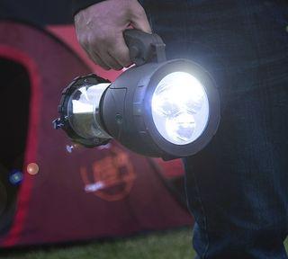 Lámpara y Linterna LED (2 en 1)