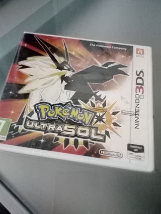 Pokemon Ultrasol precintado