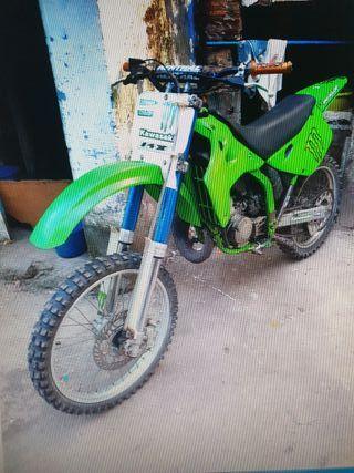 moto kawasaki kx 125cc BOIRO año96