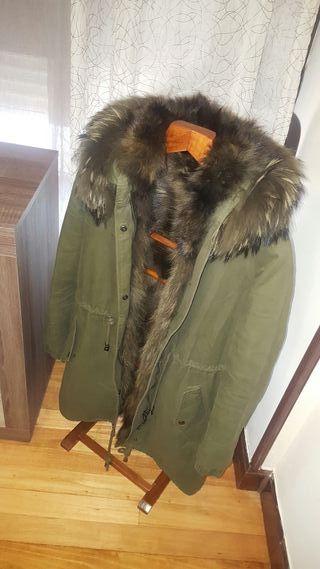chaqueta verde militar ,dos en una!