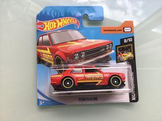 Hot wheels Nissan Datsun 510 del 71