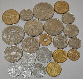 Monedas de J. Carlos I