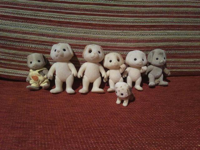 Lote muñecos Sylvanian