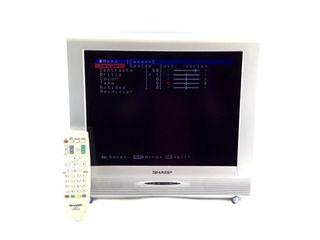 Televisor lcd sharp lc mando a distancia