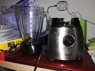 Batidora y fondue. Licuadora zumos, y fondue