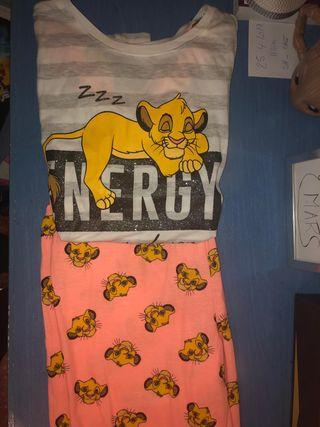 fa59128a4 Pijama León de segunda mano en WALLAPOP