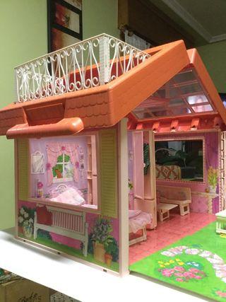 Casa Maletín de Barbie (años 90)