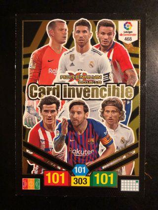 Carta Invencible Adrenalyn 18-19